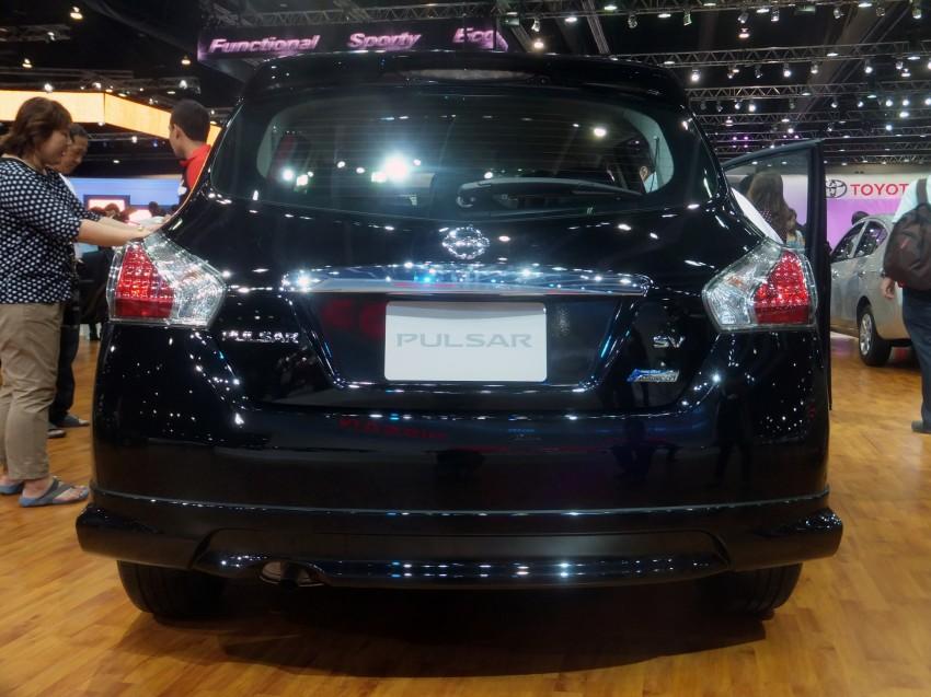 Nissan Pulsar five-door hatch on the Bangkok stand Image #164781