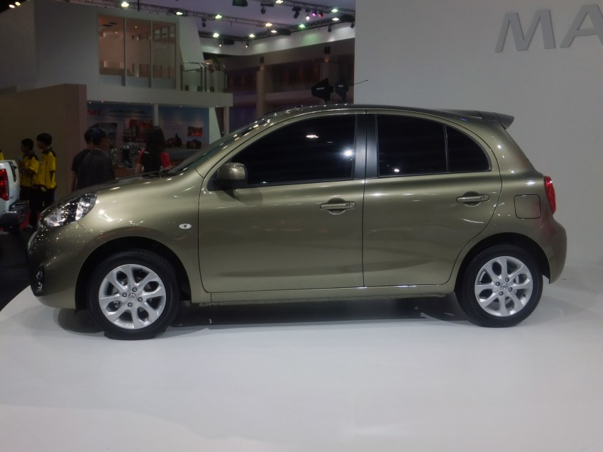 Nissan March facelift marches in at the Bangkok show Image #164500