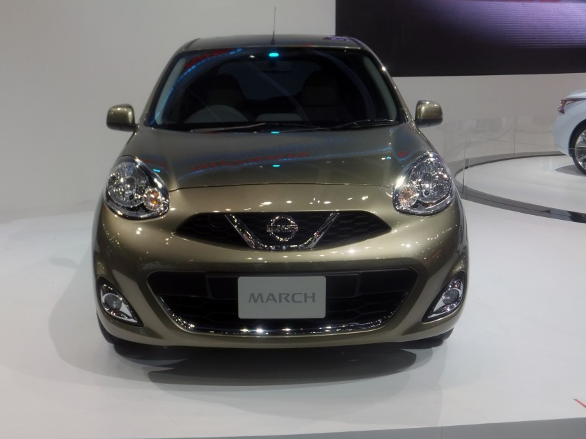 Nissan March facelift marches in at the Bangkok show Image #164501