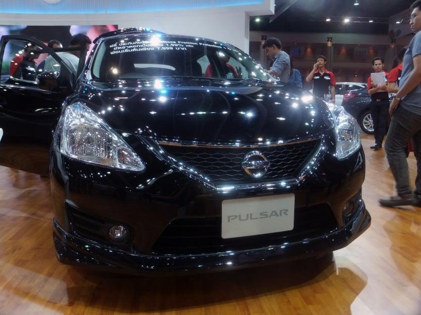 Nissan Pulsar five-door hatch on the Bangkok stand Image #164787