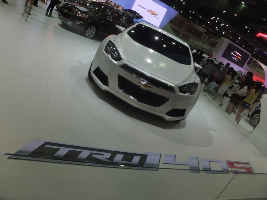 Chevrolet Tru 140S concept shows up in Bangkok Image #165009