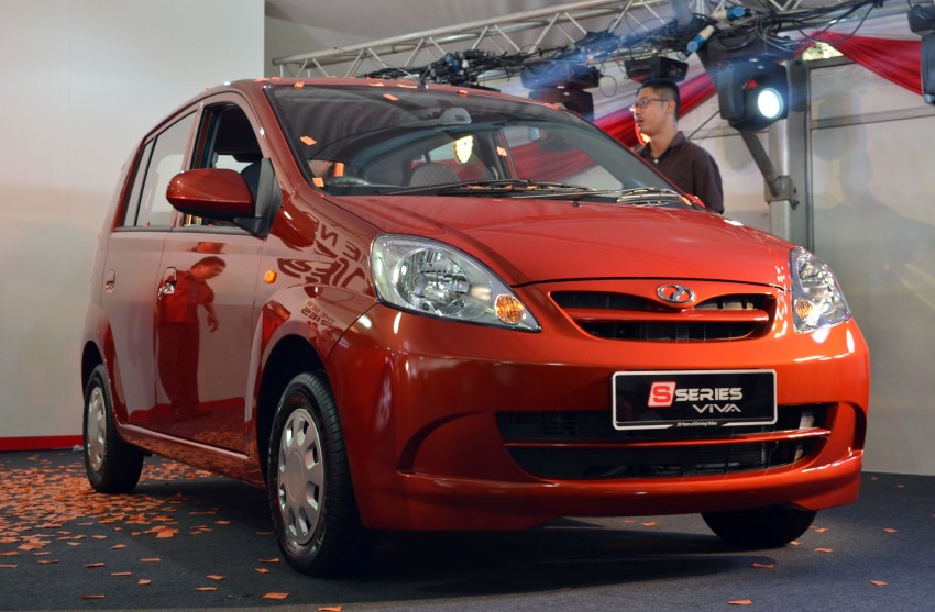 Perodua launches S-Series Viva, Myvi and Alza – all Peroduas now come with 3 years free service Image #161618