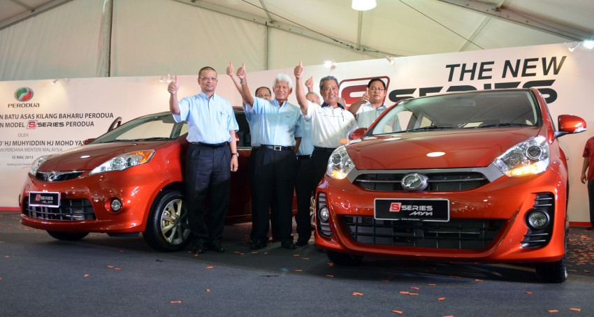 Perodua launches S-Series Viva, Myvi and Alza – all Peroduas now come with 3 years free service Image #161563