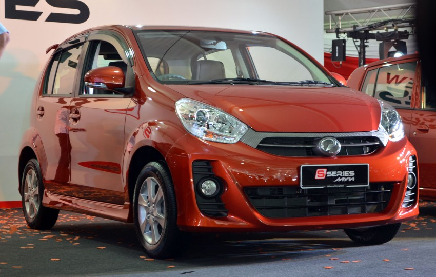Perodua launches S-Series Viva, Myvi and Alza – all Peroduas now come with 3 years free service Image #161620