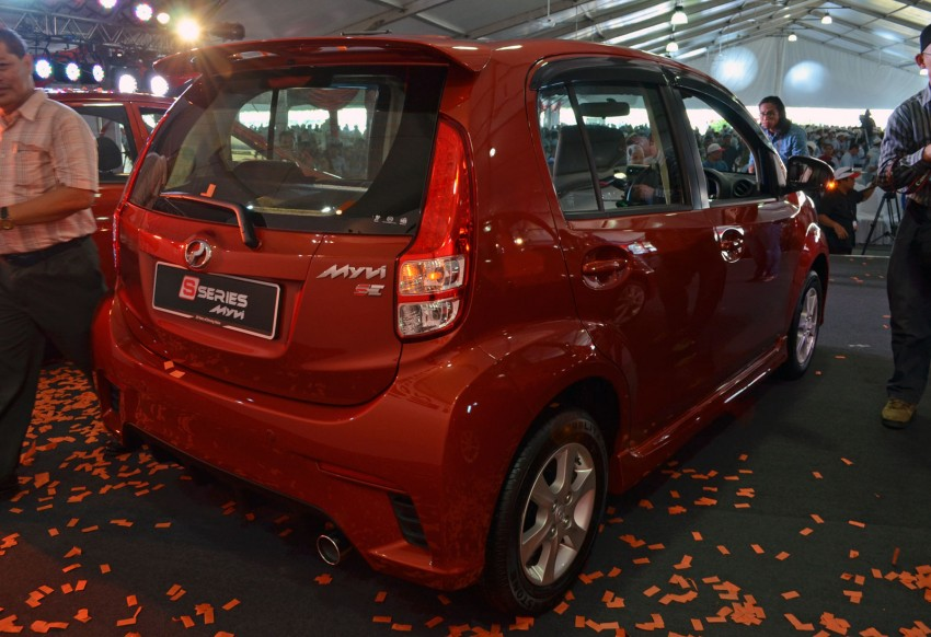 Perodua launches S-Series Viva, Myvi and Alza – all Peroduas now come with 3 years free service Image #161623