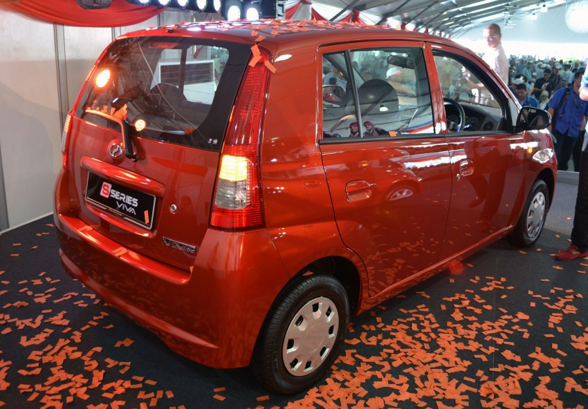 Perodua launches S-Series Viva, Myvi and Alza – all Peroduas now come with 3 years free service Image #161624