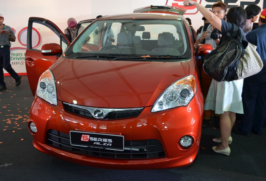 Perodua launches S-Series Viva, Myvi and Alza – all Peroduas now come with 3 years free service Image #161637