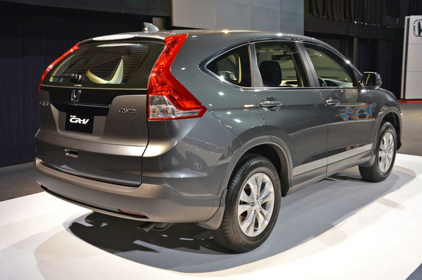 Honda CR-V launched – 2.0 litre, CKD, RM148,800 Image #159141
