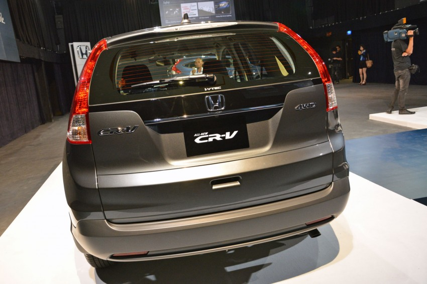 Honda CR-V launched – 2.0 litre, CKD, RM148,800 Image #159147