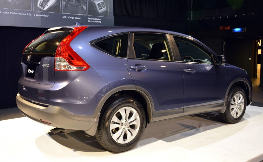 Honda CR-V launched – 2.0 litre, CKD, RM148,800 Image #159145