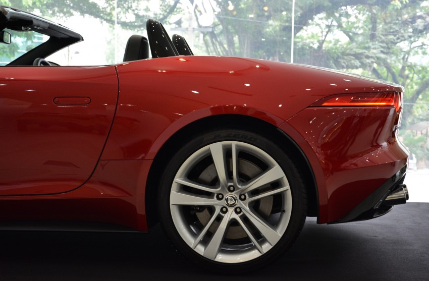 Jaguar F-Type unveiled in KL – on show until Mar 17 Image #161580