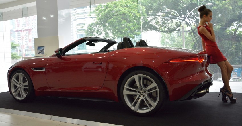 Jaguar F-Type unveiled in KL – on show until Mar 17 Image #161579