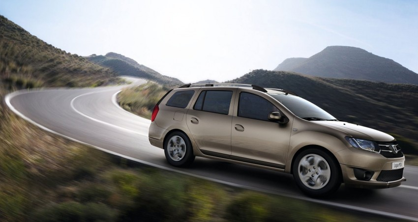 Dacia Logan MCV – large estate with a small price Image #159428