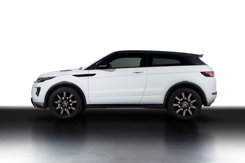 Range Rover Evoque Black Design Pack introduced Image #159591
