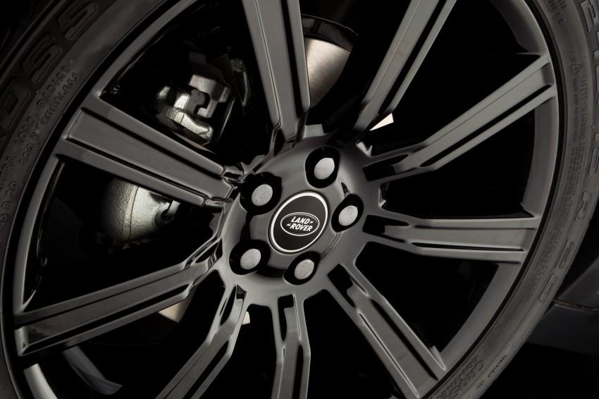 Range Rover Evoque Black Design Pack introduced Image #159592