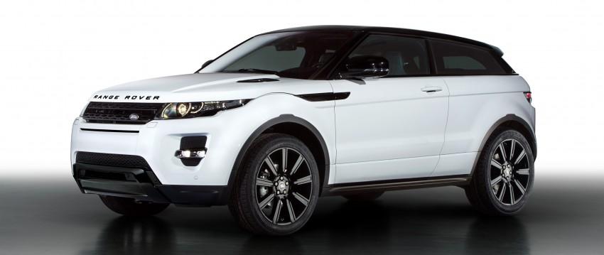 Range Rover Evoque Black Design Pack introduced Image #159594