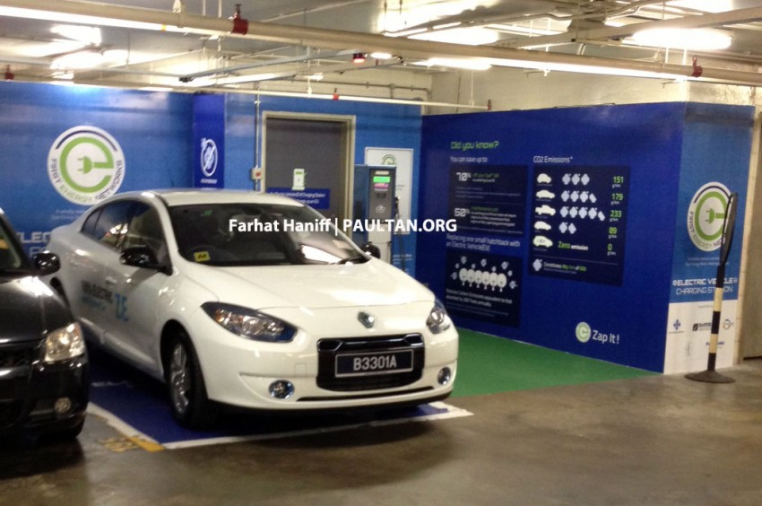 Renault Fluence Z.E. with tradeplates spotted in PJ Image #163755