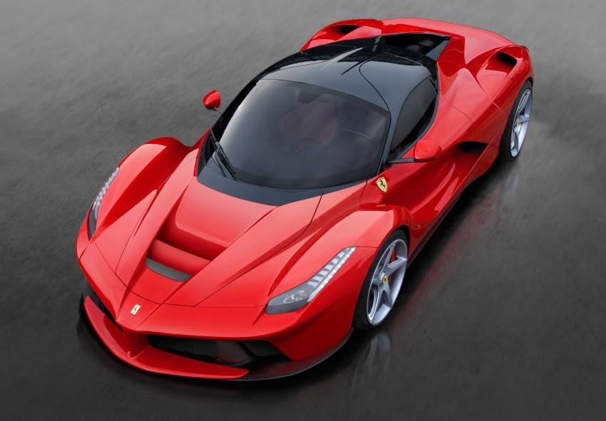 New LaFerrari replaces Enzo as the fastest Ferrari ever Image #159303