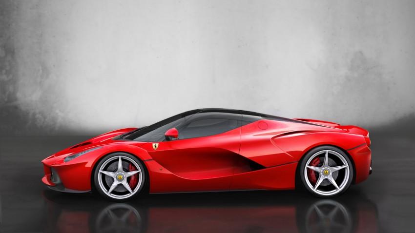 New LaFerrari replaces Enzo as the fastest Ferrari ever Image #159304