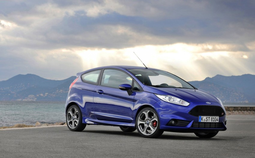 GALLERY: Ford Fiesta ST 3-door on European roads Image #163454