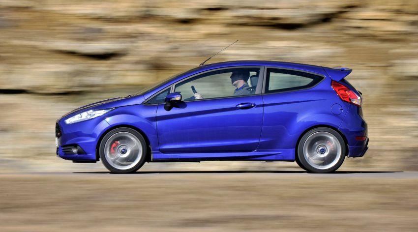 GALLERY: Ford Fiesta ST 3-door on European roads Image #163455