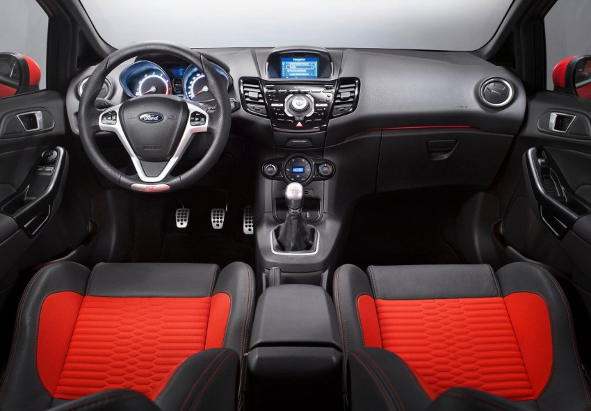 GALLERY: Ford Fiesta ST 3-door on European roads Image #163463