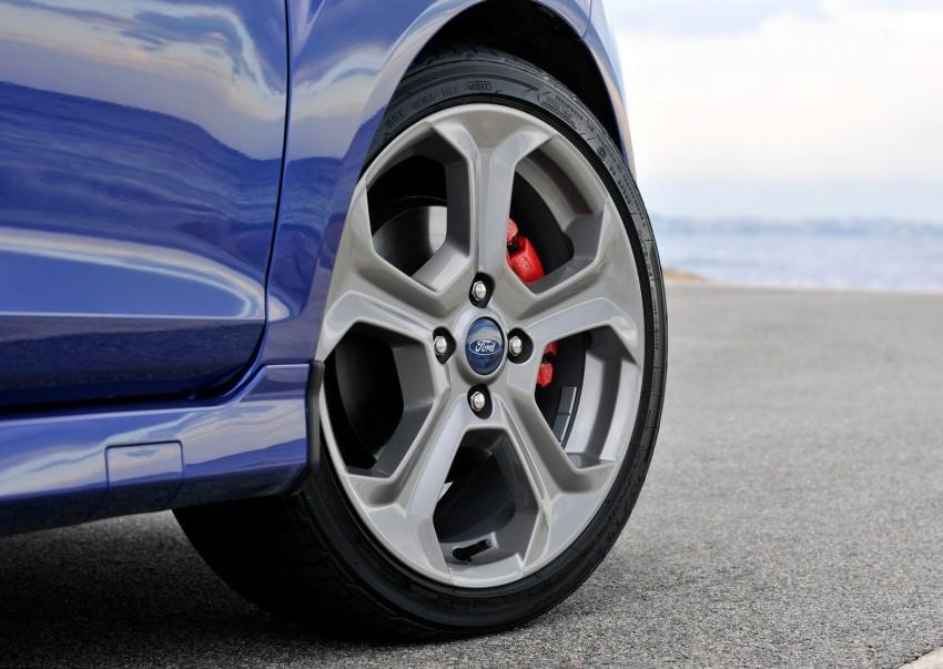 GALLERY: Ford Fiesta ST 3-door on European roads Image #163465