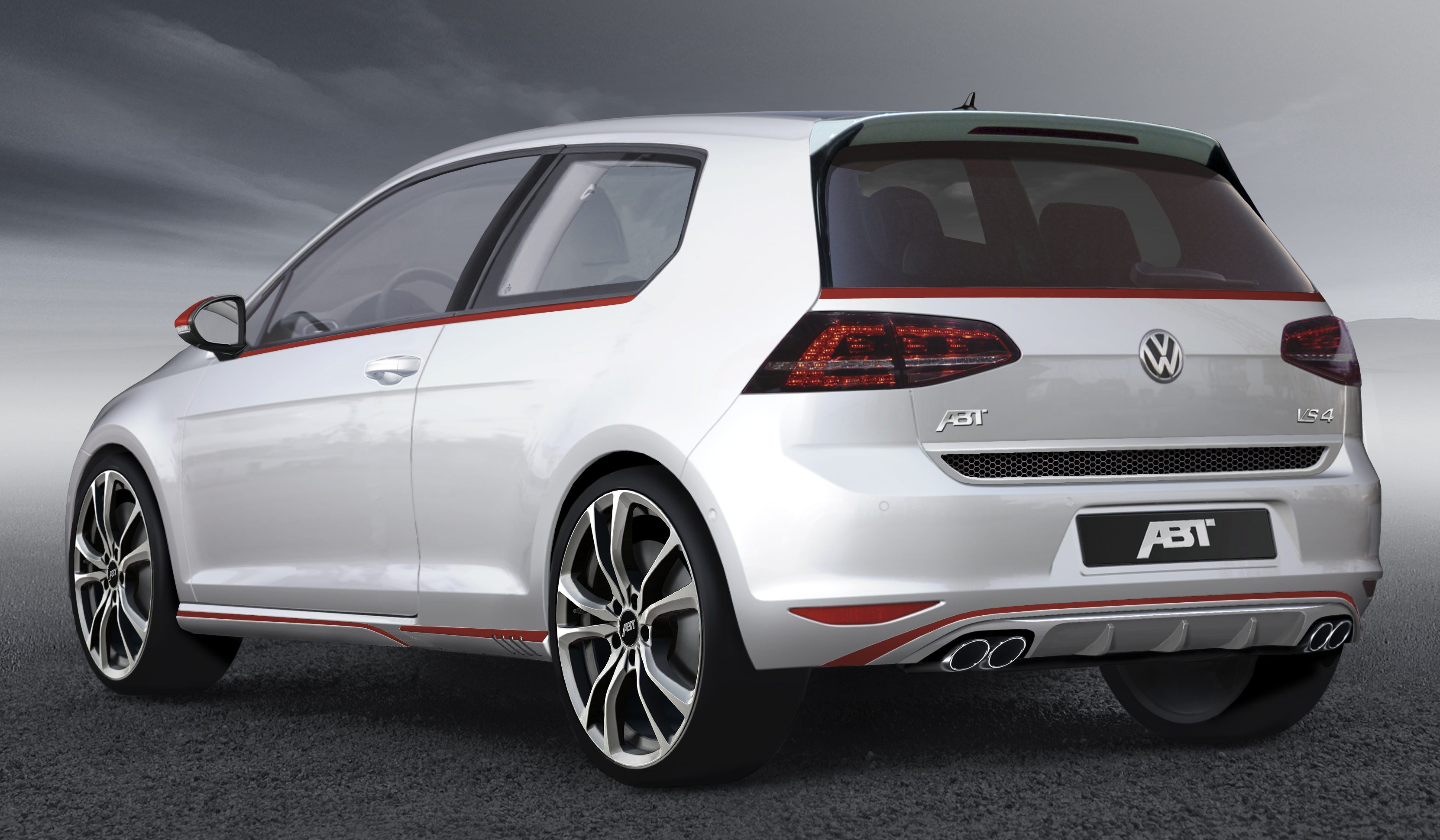 volkswagen golf mk7 gti gets the abt treatment. Black Bedroom Furniture Sets. Home Design Ideas