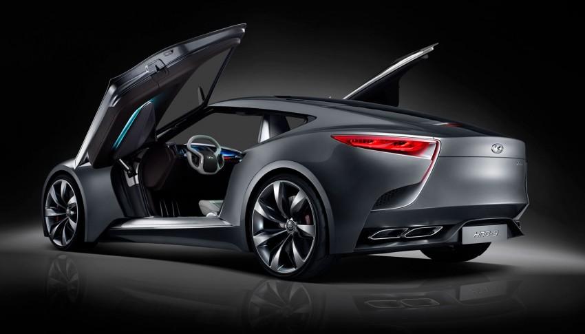 Hyundai HND-9 Concept – future Genesis Coupe? Image #165123