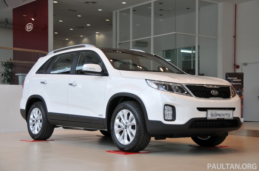 GALLERY: Live pictures of the facelifted Kia Sorento Image #162322