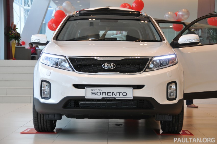 GALLERY: Live pictures of the facelifted Kia Sorento Image #162324