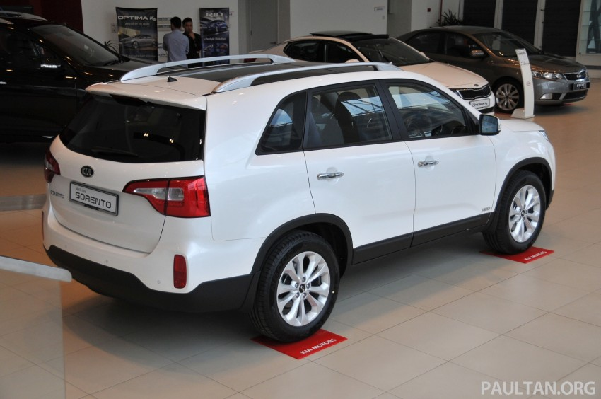 GALLERY: Live pictures of the facelifted Kia Sorento Image #162328