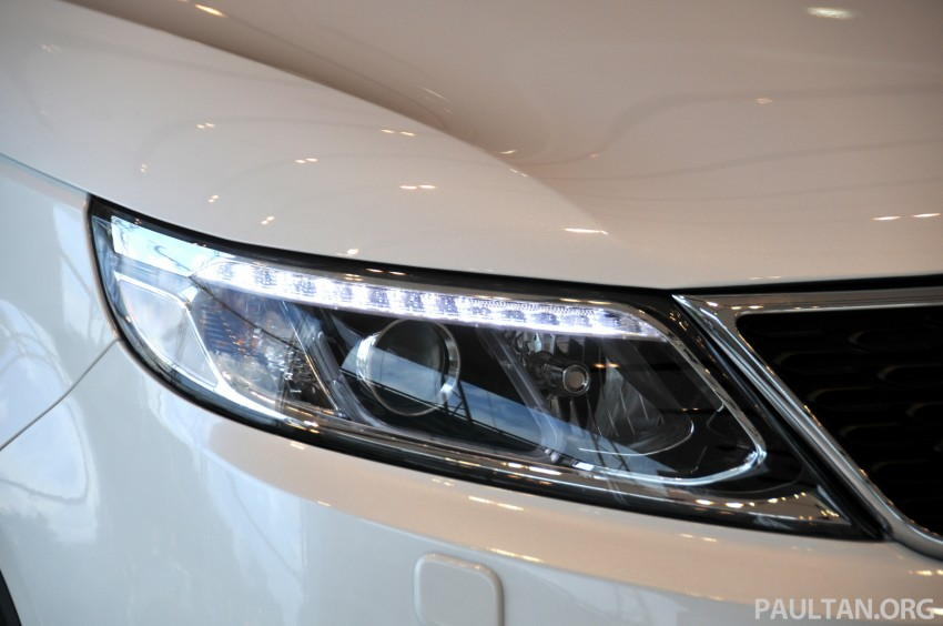 GALLERY: Live pictures of the facelifted Kia Sorento Image #162334
