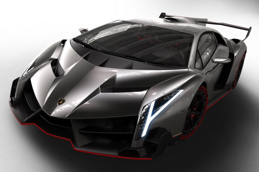 Wild Lamborghini Veneno is a 750 hp road-legal racer; limited to just three units, and they are all spoken for Image #159010