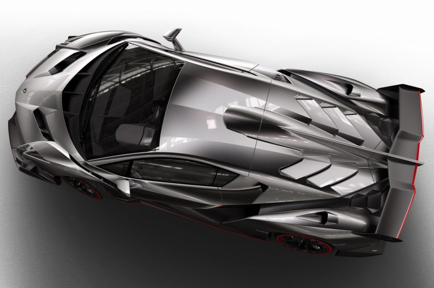 Wild Lamborghini Veneno is a 750 hp road-legal racer; limited to just three units, and they are all spoken for Image #159013