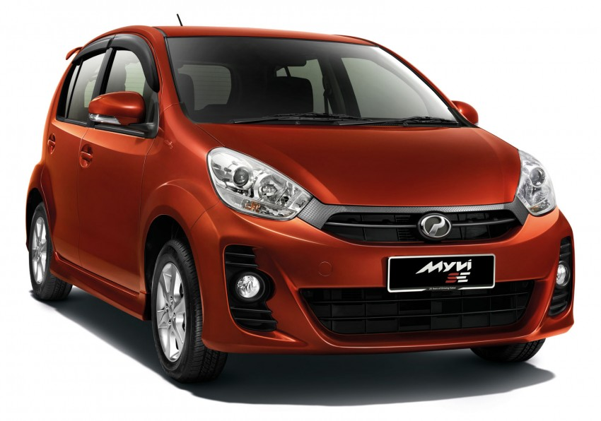 Perodua launches S-Series Viva, Myvi and Alza – all Peroduas now come with 3 years free service Image #161644