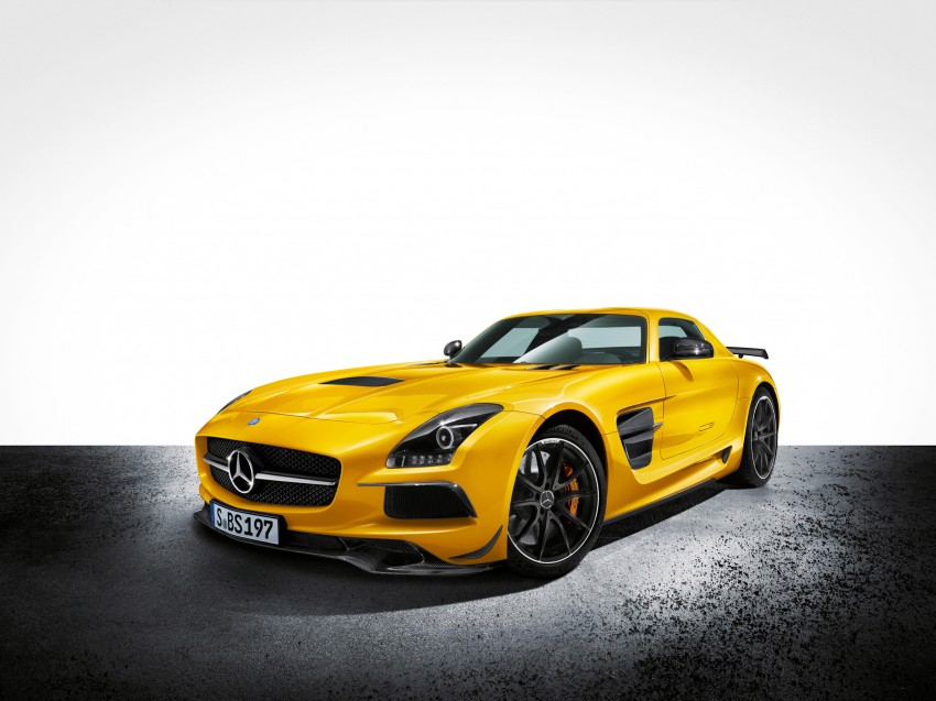 Michelin Pilot Sport Cup 2 tyres to debut on SLS Black Image #161986