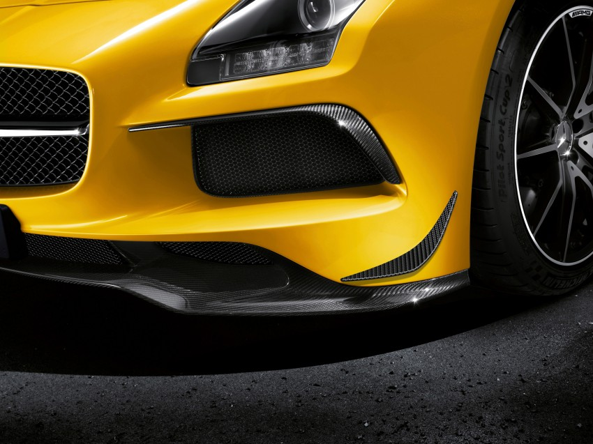 Michelin Pilot Sport Cup 2 tyres to debut on SLS Black Image #161988