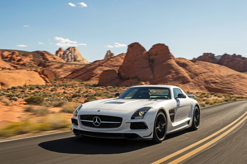 Michelin Pilot Sport Cup 2 tyres to debut on SLS Black Image #161999