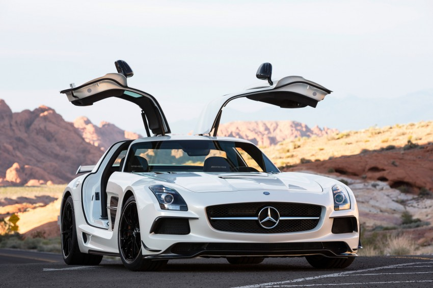 Michelin Pilot Sport Cup 2 tyres to debut on SLS Black Image #162000