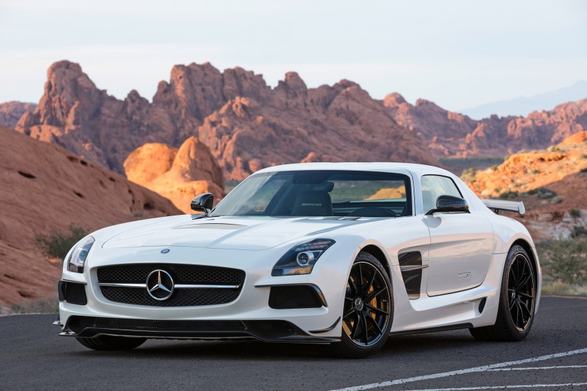 Michelin Pilot Sport Cup 2 tyres to debut on SLS Black Image #162001