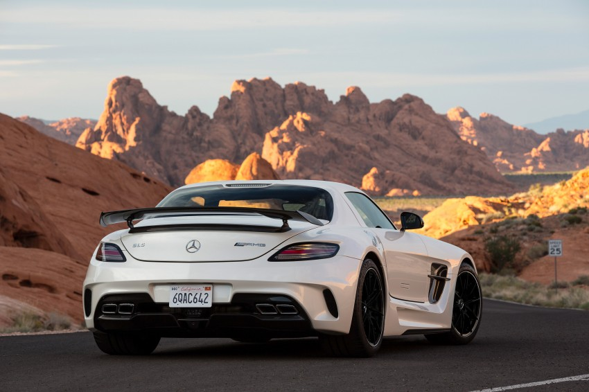 Michelin Pilot Sport Cup 2 tyres to debut on SLS Black Image #162002