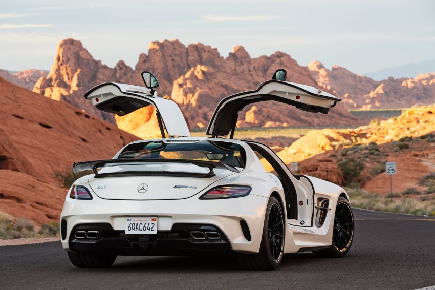 Michelin Pilot Sport Cup 2 tyres to debut on SLS Black Image #162003
