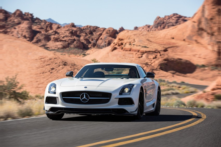 Michelin Pilot Sport Cup 2 tyres to debut on SLS Black Image #162004