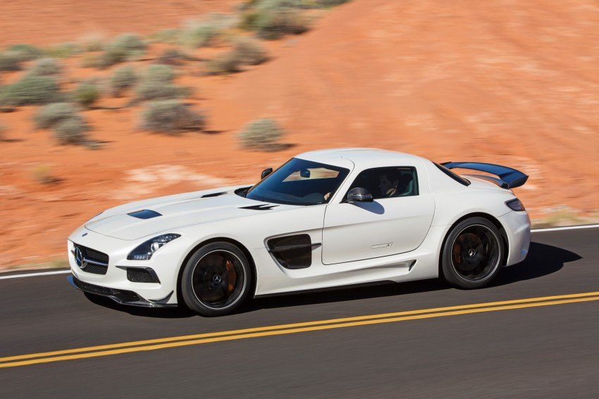 Michelin Pilot Sport Cup 2 tyres to debut on SLS Black Image #162005