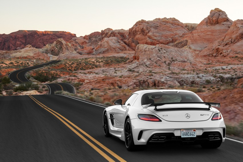 Michelin Pilot Sport Cup 2 tyres to debut on SLS Black Image #162007