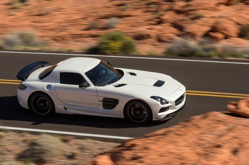 Michelin Pilot Sport Cup 2 tyres to debut on SLS Black Image #162009