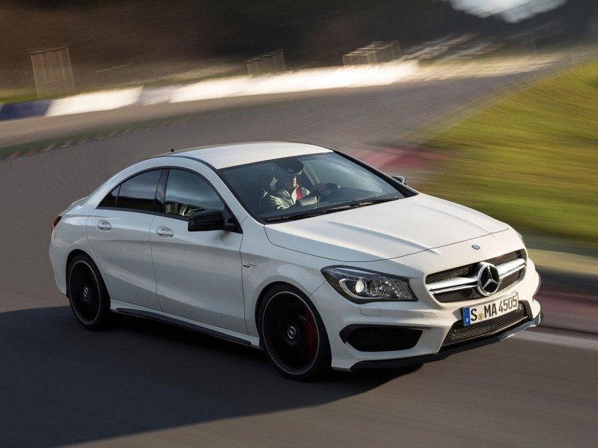 Mercedes-Benz CLA 45 AMG leaked ahead of NY debut Image #162615