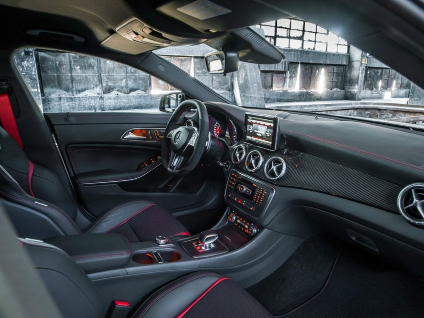 Mercedes-Benz CLA 45 AMG leaked ahead of NY debut Image #162616