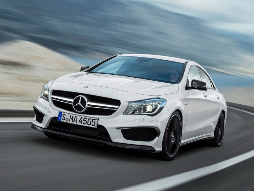 Mercedes-Benz CLA 45 AMG leaked ahead of NY debut Image #162617